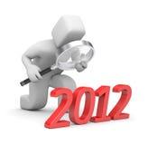 New year metaphor Stock Photography