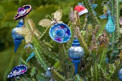 New year in Mexico. New Year decorations in Mexico stock images
