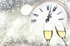 New year at midnight Stock Image