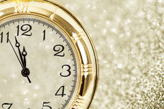 New Year at midnight Stock Photography