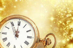 New year at midnight royalty free stock photos