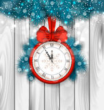 New Year Midnight Shimmering Background Stock Photography