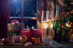 New year mix royalty free stock images