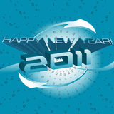 New Year modern design Stock Photo
