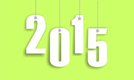 2015 new year. Modern infographics of the website Royalty Free Illustration