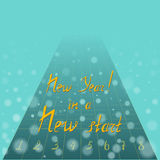 New Year Motto Royalty Free Stock Photo
