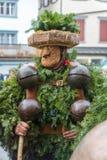 New Year Mummers (Silvesterchlausen) in Urnasch, Appenzell. A traditional New Year Mummer costume, in Urnasch, Appenzell, Switzerland. Its part of the stock photos