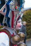 New Year Mummers (Silvesterchlausen) in Urnasch, Appenzell Royalty Free Stock Photo