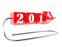 New year is near. New year concept stock illustration