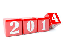 New year is near. New year concept Stock Image