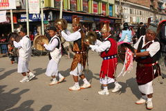 New Year in Nepal Stock Photography
