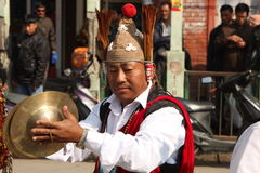 New Year in Nepal Royalty Free Stock Photo