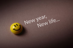 New year new life Royalty Free Stock Photo