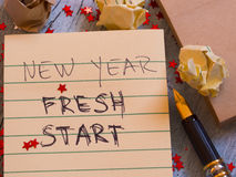 New Year New Start Royalty Free Stock Photos