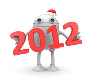 New year - New technologies Royalty Free Stock Image