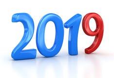 New year 2019 stock illustration