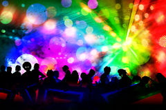 new year new year event in disco club Royalty Free Stock Image