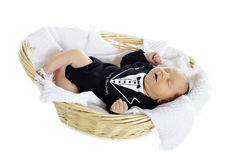 New Year Newborn Royalty Free Stock Photo