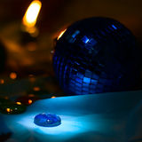 New year night background Stock Images