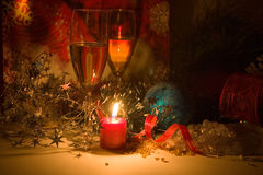 New year night composition Stock Photography