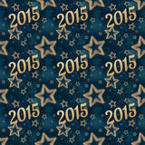 New year on the night stars seamless pattern 2 stock images