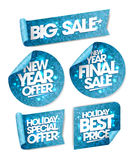 New year offer,  winter holiday collection Stock Image