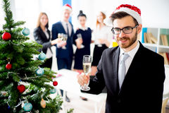 New year office party Stock Photography