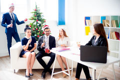 New year office party Royalty Free Stock Photos