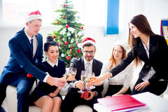 New year office party Stock Photo