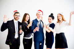 New year office party Stock Images