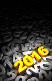 New Year 2016 and Olds Stock Images