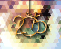 2015 New year original modern background template. For invitations, seasonal cards, event posters, new year backgronds and so on Stock Illustration