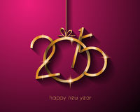 2015 New year original modern background template Royalty Free Stock Image