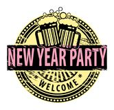New Year Party Royalty Free Stock Images