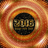 New Year Party Background Stock Photography
