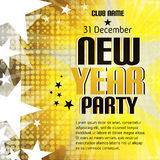 New Year party background with place for text Stock Photo