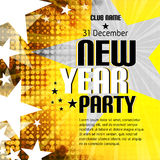 New Year party background with place for text Stock Photos