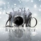 New Year party background Royalty Free Stock Photography