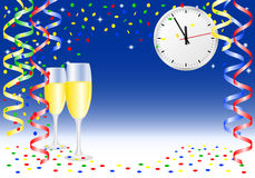 New year party background Stock Photos