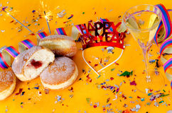 New year party Royalty Free Stock Photos