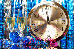 New year party Royalty Free Stock Photo