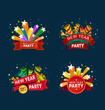 New year party event tittle Stock Photography