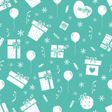 New Year party pattern 2 Royalty Free Stock Photo