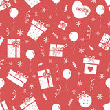 New Year party pattern 3 Royalty Free Stock Images
