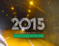 New Year Party Poster Design Royalty Free Stock Photo