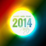New year party. Shiny glowing happy new year party design Stock Photos