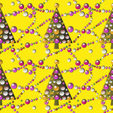 New Year  pattern Royalty Free Stock Photo
