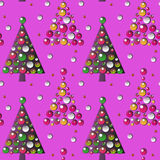 New Year pattern Royalty Free Stock Images