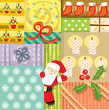 New year pattern Stock Photography
