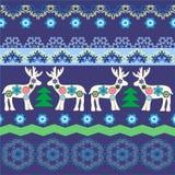 New year pattern Royalty Free Stock Photo